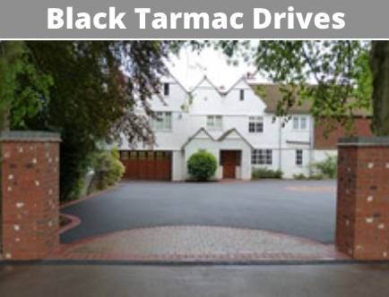 black tarmac drives cork