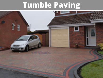 tumble paving cork